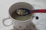 ブロッコリーと引き割り納豆のトロトロスープ