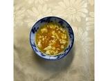 なんきんとくずし豆腐のお汁