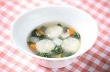 れんこん団子スープ