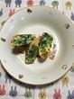小松菜のオムレツ
